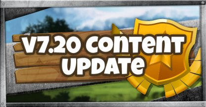 Résumé de la mise à jour du contenu v7.20 - 22 janvier 2019