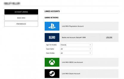 Changer le nom pour PC, PS4 et XboxOne
