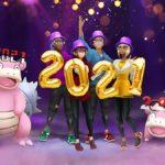 Pokémon Go présente son événement du Nouvel An 2021