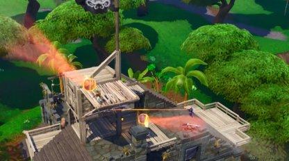 Utilisez des canons pirates pour tirer à travers la couverture
