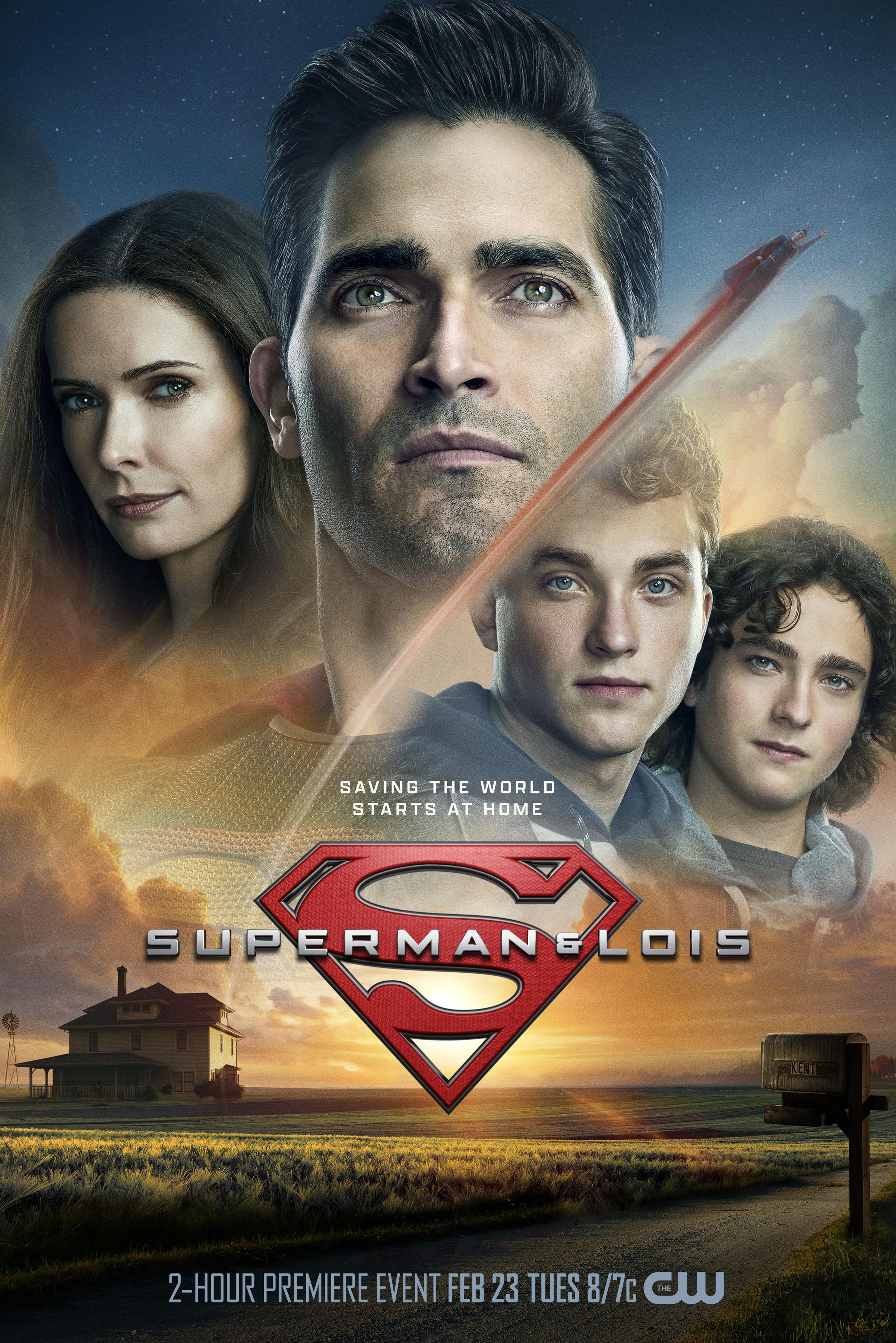 Superman et Lois: l'art exclusif révélé pour la nouvelle série Arrowverse