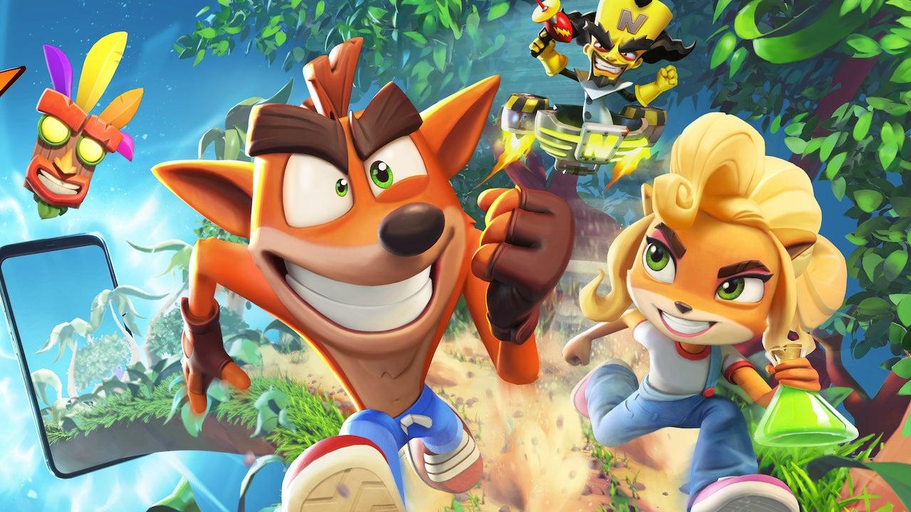 Crash Bandicoot: en fuite!  Premières captures d'écran