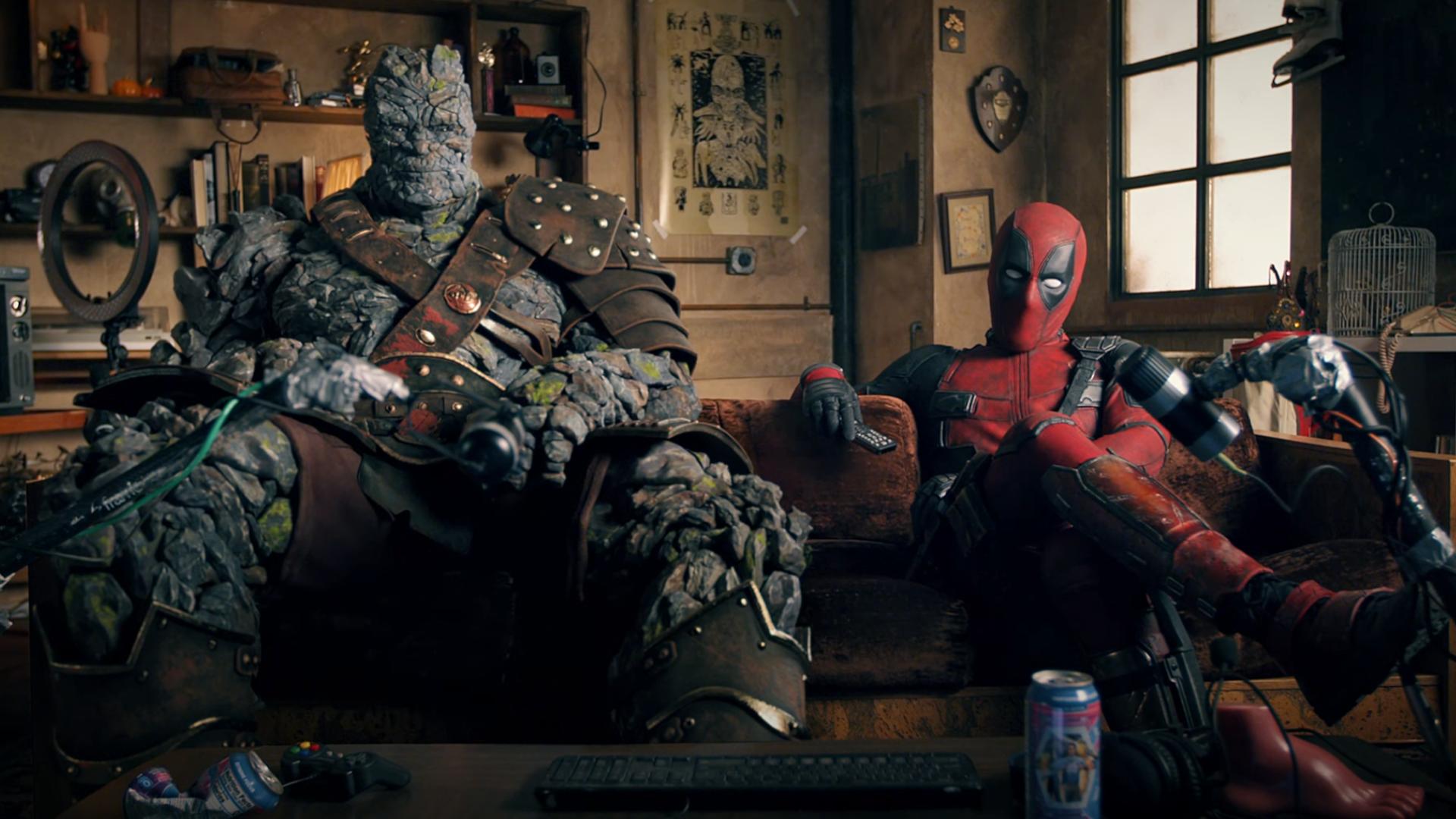Korg et Deadpool réagissent.