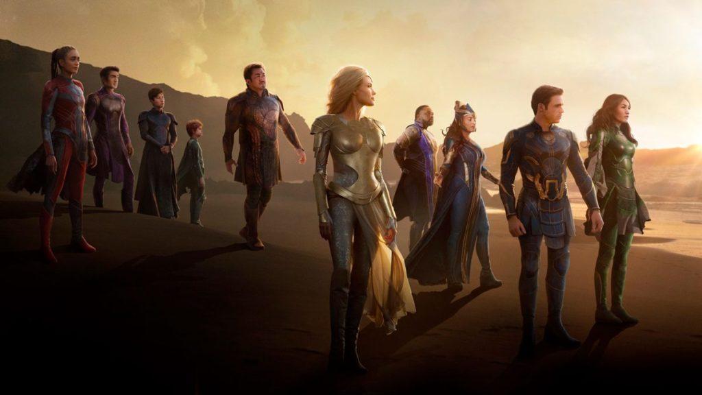 Marvel publie un teaser d'Eternals montrant de nouvelles scènes de Gilgamesh, Thena, The Deviants et plus